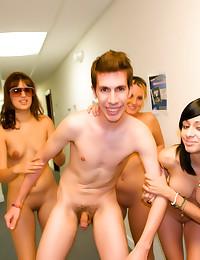 Dorm girls love to play