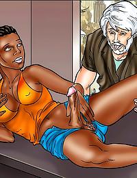 Hot comic style hardcore sex