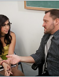 Innocent Nerdy Chick Banged So Hard