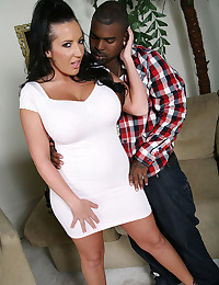 Black guy groping her
