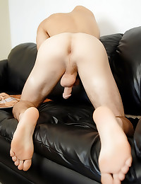 Twink has a big dick