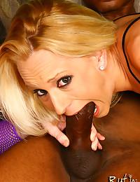 Sluts share big black cock