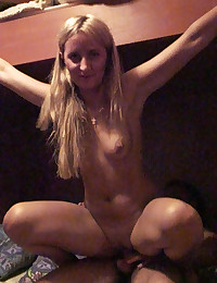 Sweet college girl takes dick...