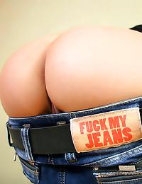 Ass fuck jeans slut