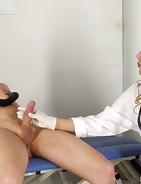 Under the femdom medical high heels and pussies