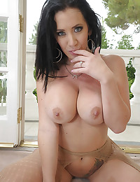 Dark Haired Misstress Jayden Drilled Raw