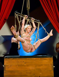 Bondage fuck for an audience