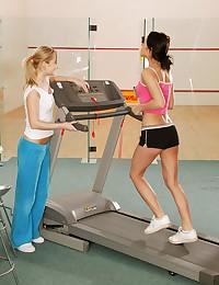 Fitness lesbians