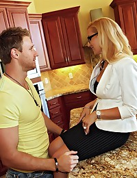 Tight Assed Blond Babe Drilled Deep