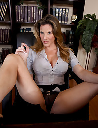 Hot milf secretary