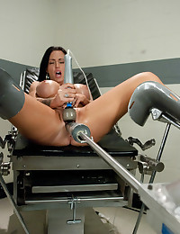 Jenna Presley licks her squirt up after an epic fuck fest with HUGE cock on our custom machines.She is a slave to her pussy and the robots fucking it!