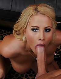 Golden Haired Mistress Bounces On Dick