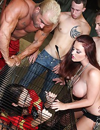 Kinky Fetish Foursome Gets Wild