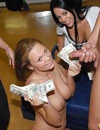 Hot workout chicks having fun