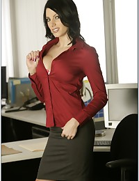 Lusty office banging