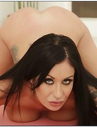 Tattooed pornstar has big tits