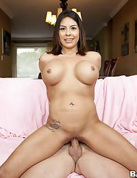 Latina Beauty Candi Cox Rammed Hard