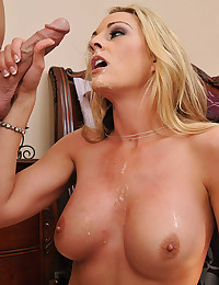 Horny mommy loves big cock