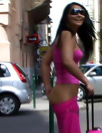 Ladies exposed in public plac...