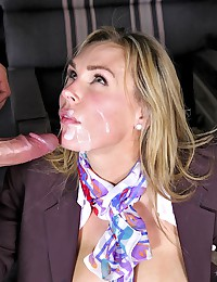 Gorgeous Office Hottie Tanya Tate