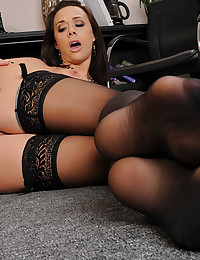 Gorgeous office girl sex