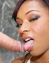 Lusciously Hot Ebony Groped And Fucked
