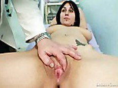 Adriana Visiting Gyno Doctor For Real Pussy Gyno Exam