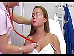 Mia speculum gyno exam from behind
