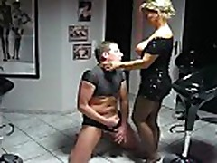 Lady Barbara foot slave