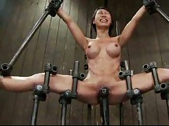 Girls in pain and bondage look hot suffering