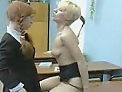 Russian girl and lesbian teacher