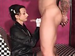 Satin - mature sucks dick