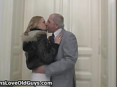 Dirty Old Man Loves To Have Fun With Sexy Teen Girls By TeensLoveOldGuys