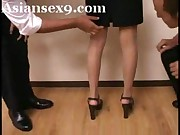 Beautiful Asian Teacher Got Gangbang By Her Students