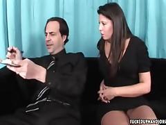 Gisselle - Abusive Handjob Action