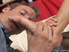 Audrey Bitoni - Hot Foot Fetish