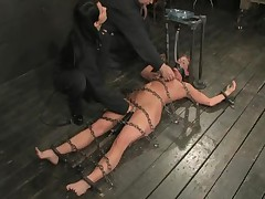 Ariel X And Isis Love And Annie Cruz - Device Bondage
