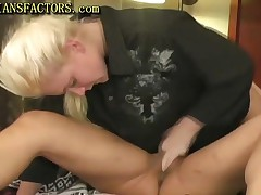 Two Busty Lesbians Getting Wild On Bed