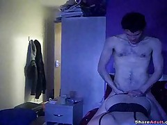 Hot Fuck Session For This Horny Amateur Couple