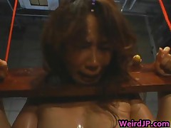 Asian Doll Is Held Like An Animal On A Farm 3 By WeirdJP