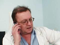 Verka - Elder Pierced Pussy Woman Bizarre Pussy Exam