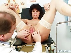 Radima - Elder Wife Weird Speculum Vagina Examination