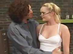 Amber Peach - Teachers Pet #8 - Scene 2