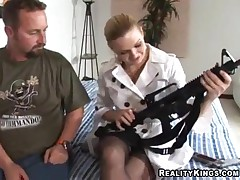 Kat - MILF Hunter - Cocked And Loaded