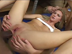 Madison Day and Ashley Long fuck and cum swap