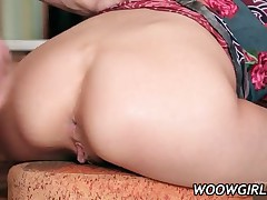 Tempting Teen Gets Skinny Ass Fucked And Cummed