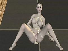 Kanzaki Tennyo VS Kusunoki Tsutomu Erika 3D