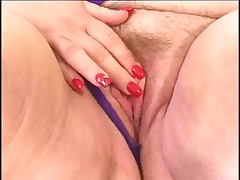 Hairy Old Cow Gets Fucked My Many Swinging Studs