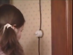 Pigtail Vintage Girls Caned