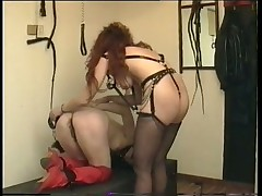 Wig Loving Fetish Hotties in Femdom Video